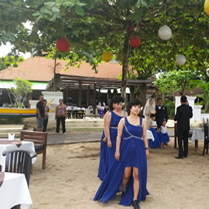 bali janur kuning restaurant wedding