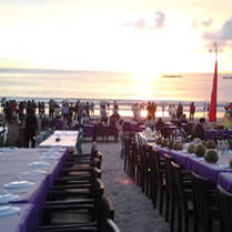 bali jimbaran restaurant wedding